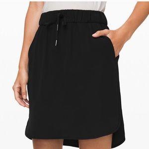 Lululemon - On the Fly Skirt - Black - Size 12